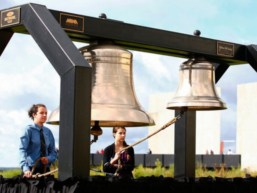 Tolling for Unity at 9/11 Plane Crash Site