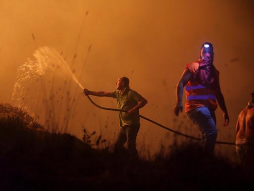 """""""Broken Planet"""": """"Mega-Fires"""" in Portugal"""