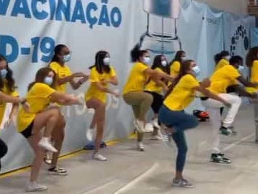 Flash Mob Stuns Portuguese Vaccination Center