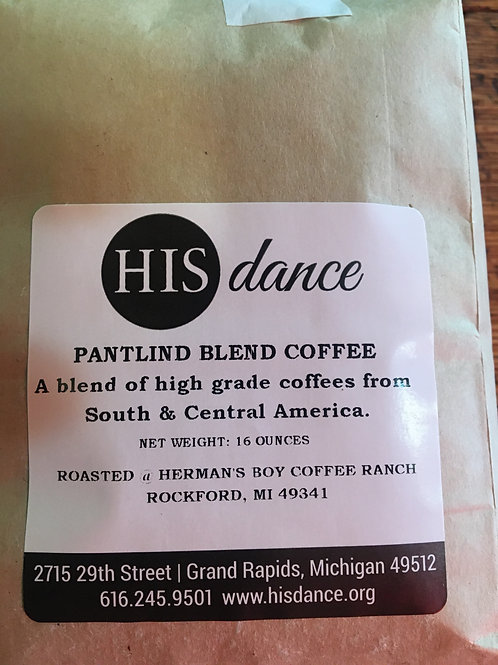 Pantlind Decaf Coffee 1lb