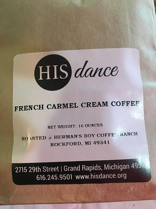 French Carmel Cream Decaf Coffee 1lb