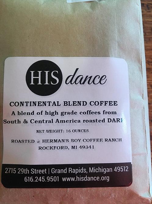 Continental Decaf Coffee 1lb