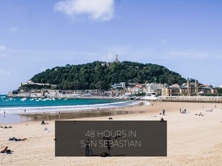 48 Hours in San Sebastian