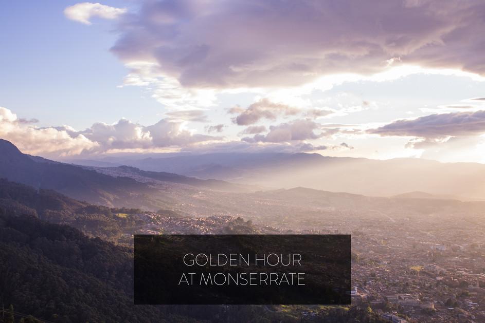 GOLDEN HOUR AT MONSERRATE