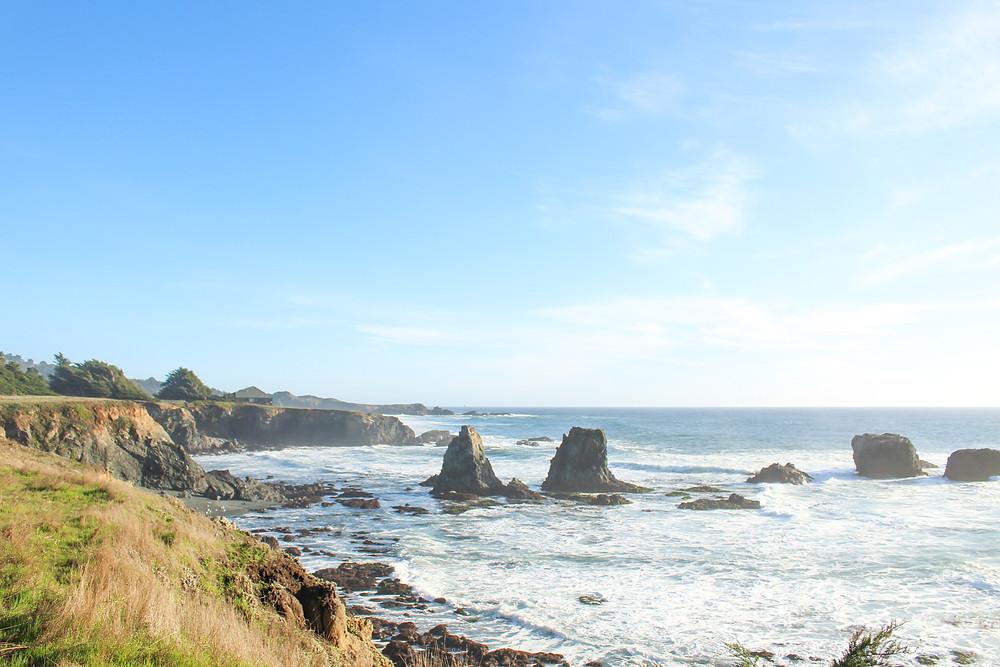 The Sea Ranch on the Northern California coast