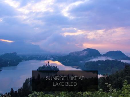 SUNRISE HIKE AT LAKE BLED