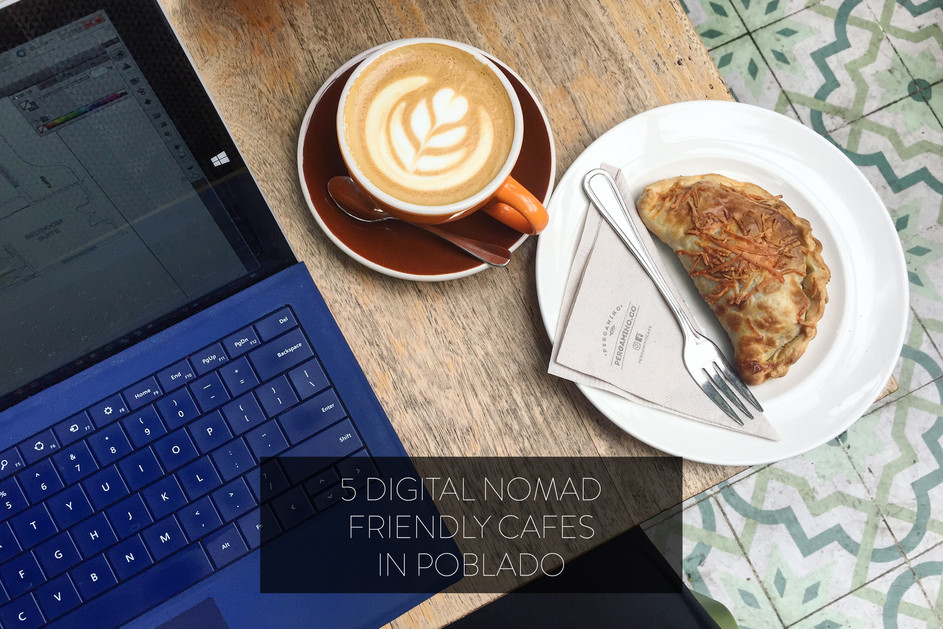 5 DIGITAL NOMAD FRIENDLY CAFES IN POBLADO