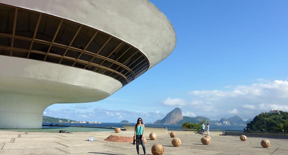 Oscar Niemeyer, Sugar Loaf, & Guanabara Bay