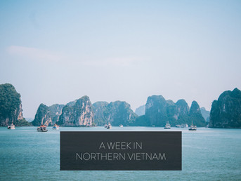 A Week in Northern Vietnam