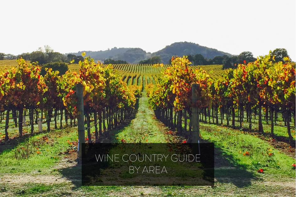 WINE COUNTRY GUIDE BY AREA