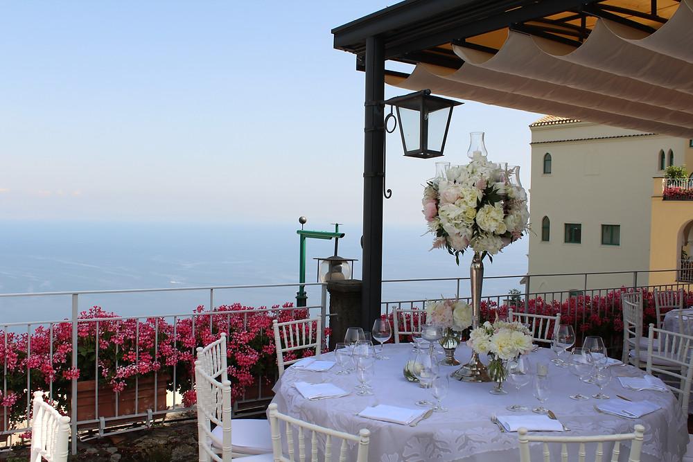 Hotel Caruso Wedding, Ravello, Italy