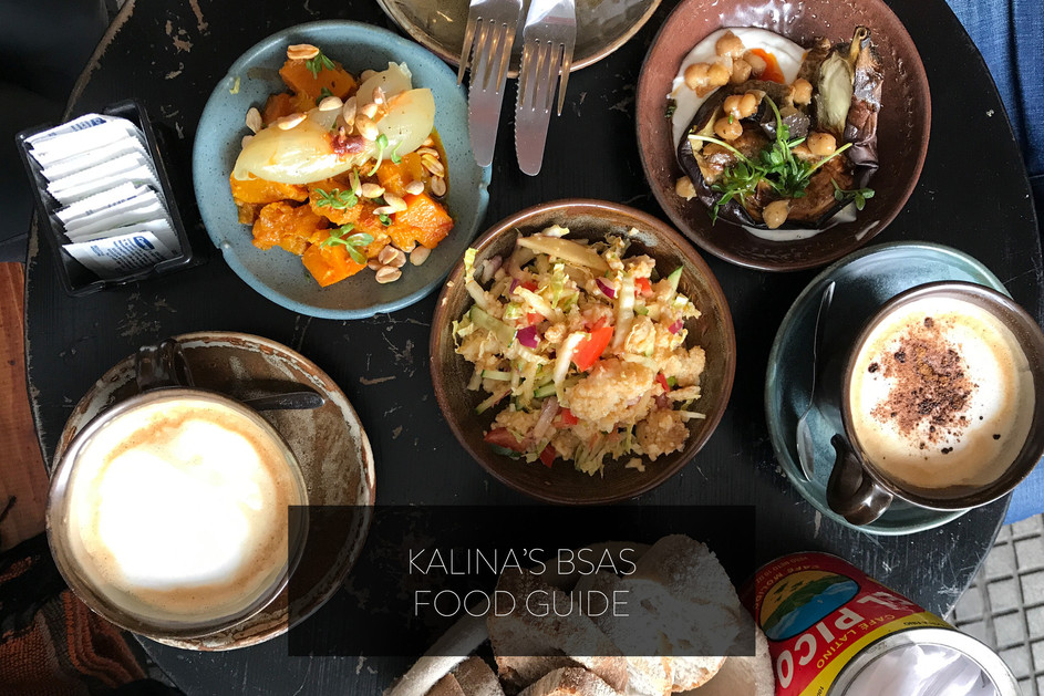 KALINA'S BSAS FOOD GUIDE