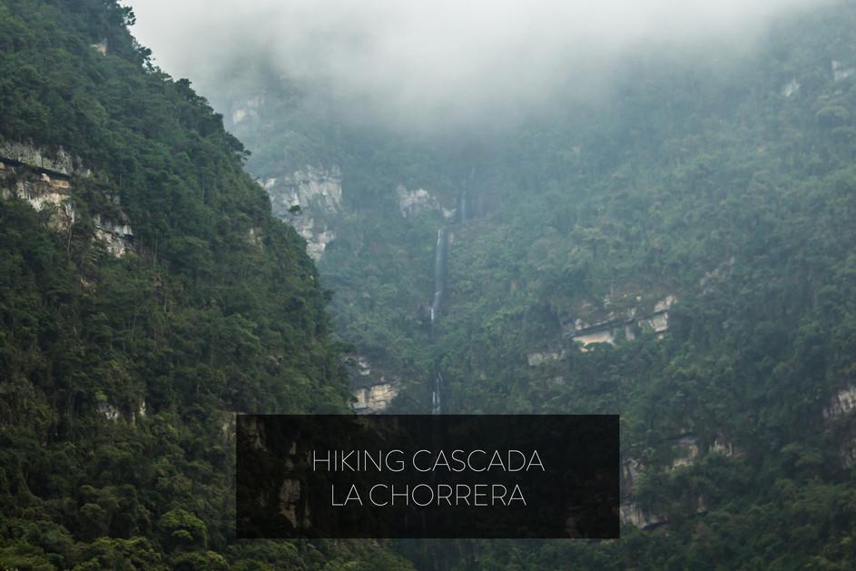 HIKING CASCADA LA CHORRERA