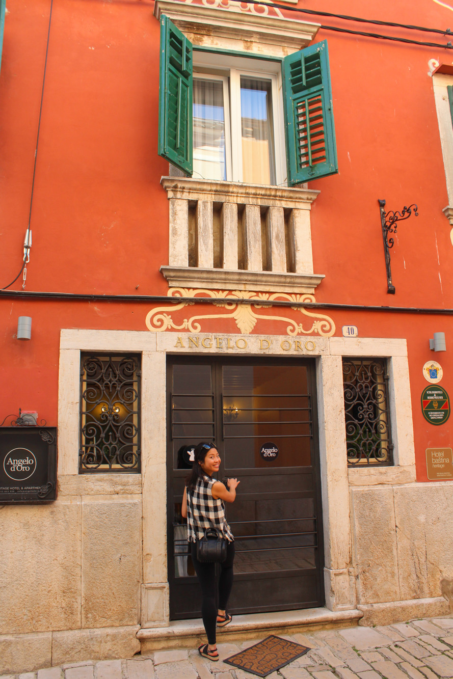 Hotel Angelo d'Oro in Rovinj, Croatia