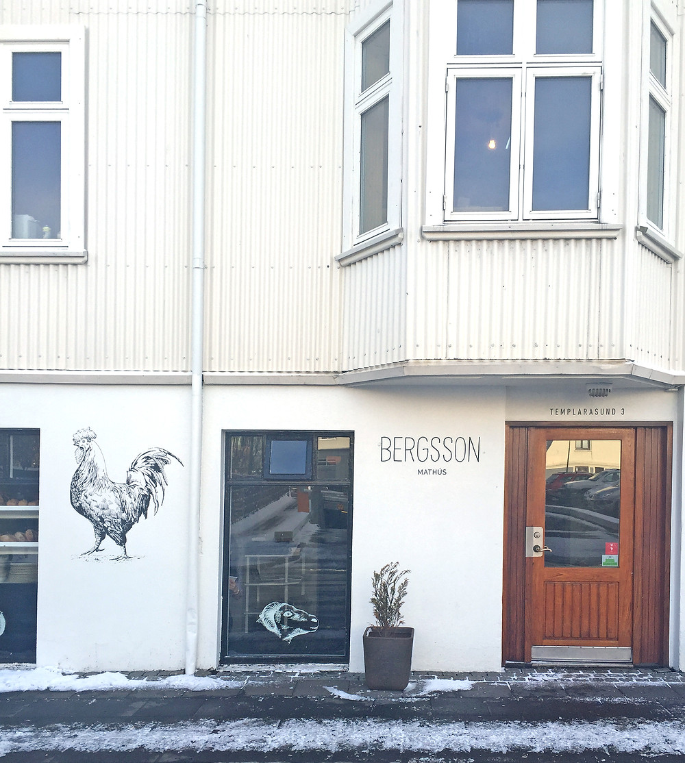 Bergsson Mathus in Reykjavik, Iceland