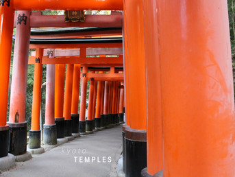 SNAPSHOT OF KYOTO TEMPLES