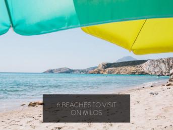 6 Beaches to Visit on Milos
