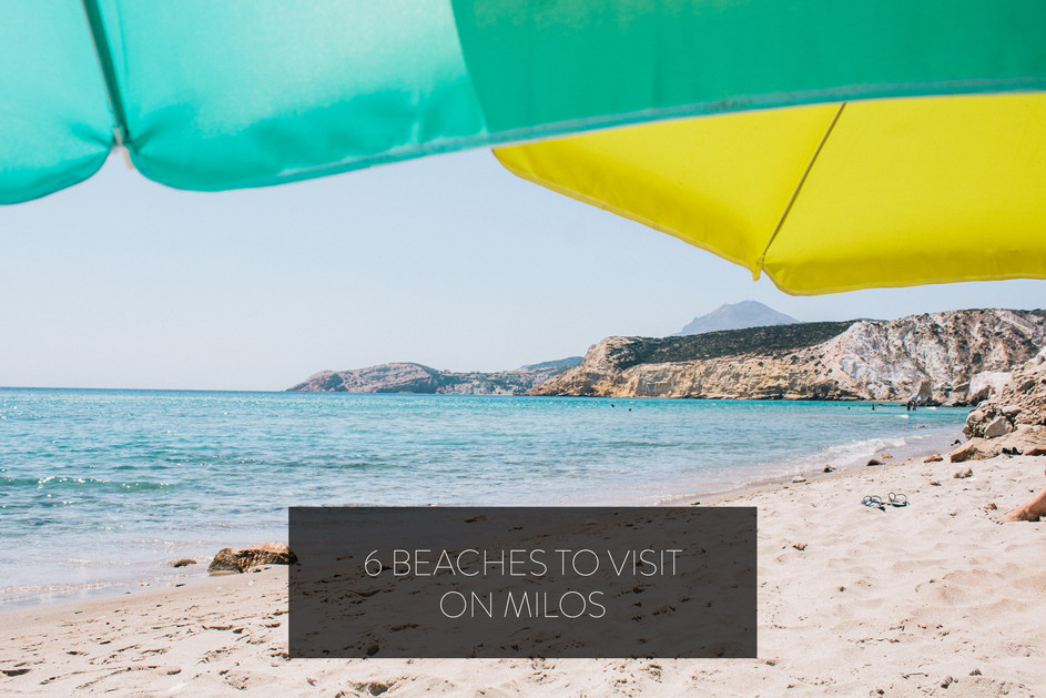 6 Beaches to Visit on Milos