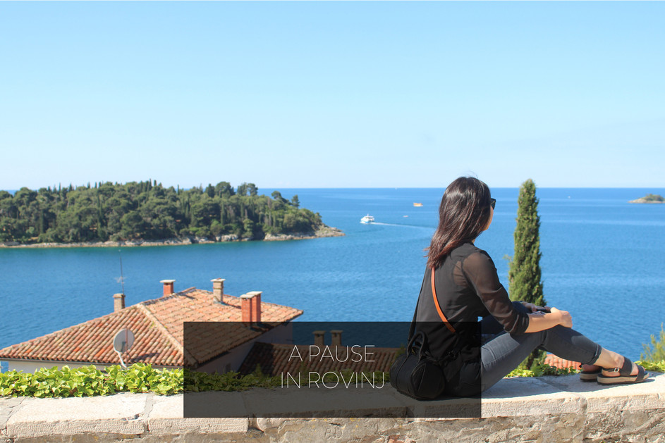 A PAUSE IN ROVINJ
