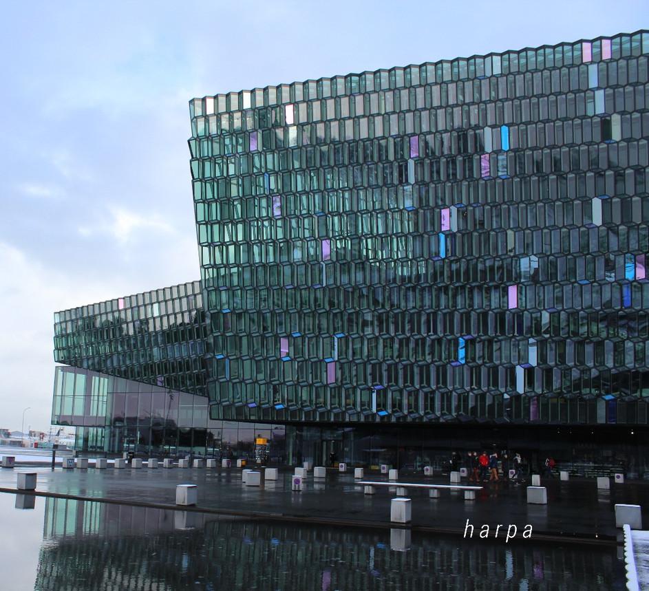 HARPA | ARCHITECTURAL MUSINGS IN REYKJAVIK