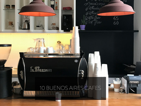 10 BUENOS AIRES CAFES