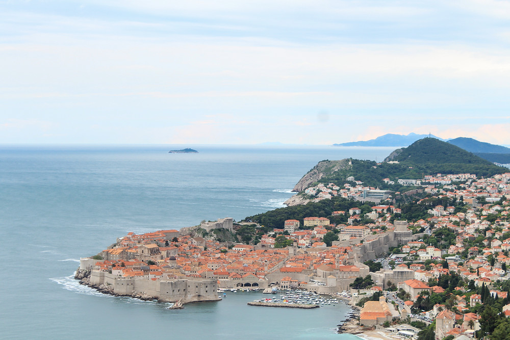 Dubrovnik, Croatia from above