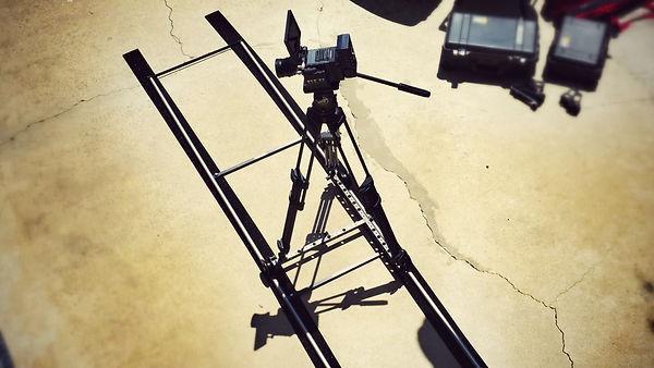 RED Camera Mounted to the ProCam Motion Dolly Kit
