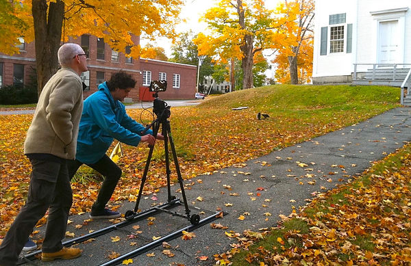 Camera Dolly Kit on location in Maine