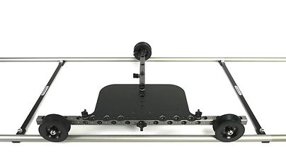 ProCam Motion Dolly Platform Mounted to the Dolly Kit
