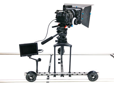 ProCam Motion Camera Dolly with Riser Kit and Monitr Arm