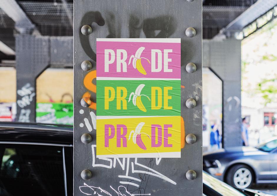 LGBTQ+ Pride Poster