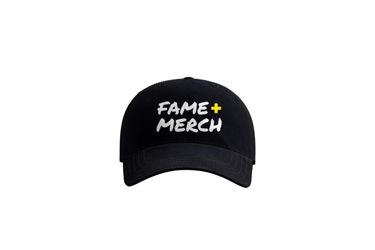 Fame+Merch dad cap
