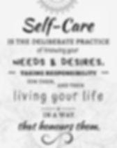 Self-Care Poster