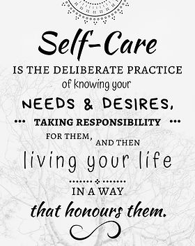 Self-Care Poster