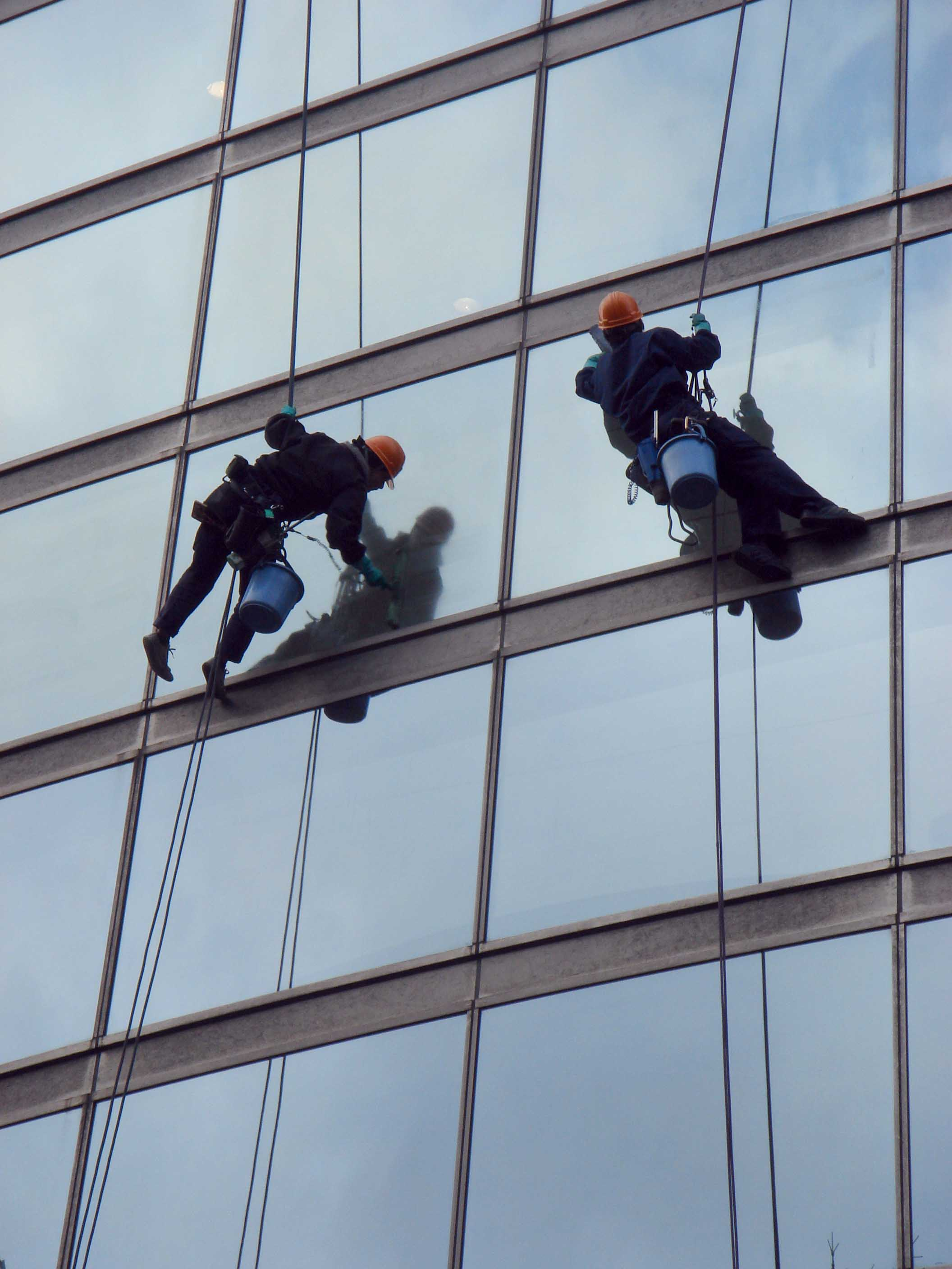 Window and glass cleaning