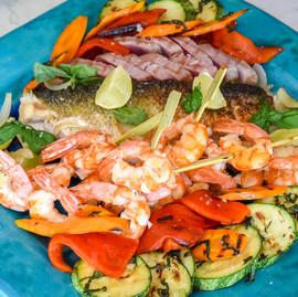 Mix grill plate - Sea food