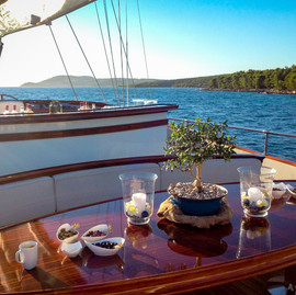 Yacht cocktail party