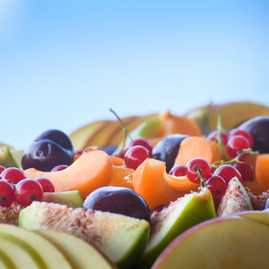 Seasonal fruit plate