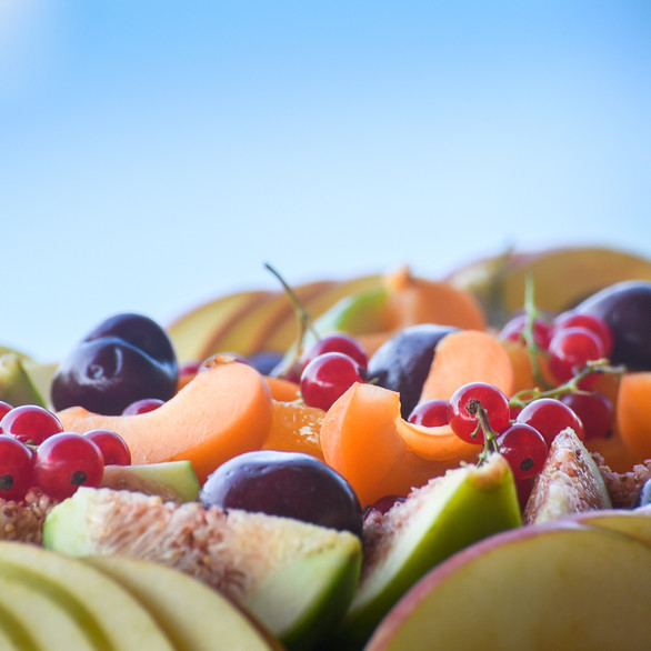 Seasonal fruit plate