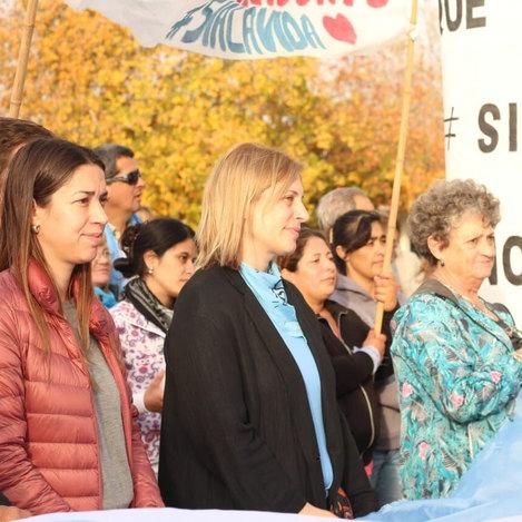 Marcha por las dos vidas en Gálvez