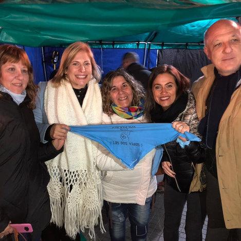 Marcha por las dos vidas en Rosario