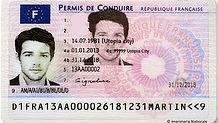 Перевод водительского удостоверения Франция