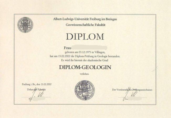 Перевод диплома полученного в Герман