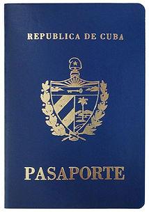 Перевод кубинского паспорта на русский