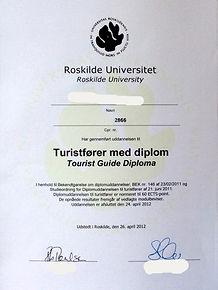 Перевод диплома Дания