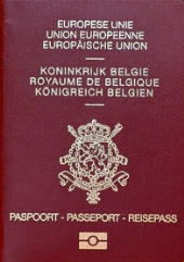 Паспорт гражданина Бельгии