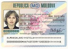 Перевод водительского удостоверения Молдовы