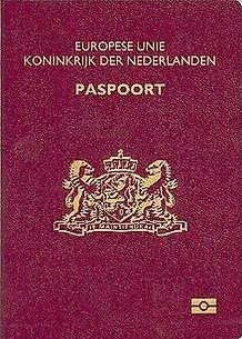 Перевод голландского (нидерландского) паспорта на русский
