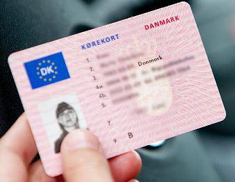 Перевод водительского удостоверения Дания