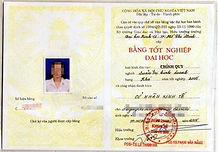 Перевод диплома Вьетнам